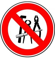 Prohibido llevar herramientas en maleta de mano