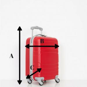 Medidas del equipaje de mano by Esencia Viajes