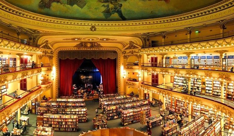 Librería Ateneo Grand Splendid en Buenos Aires by Esencia Viajes