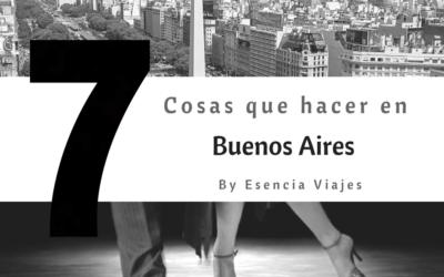 7 cosas que hacer en Buenos Aires