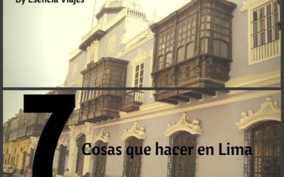 7 cosas que hacer en Lima