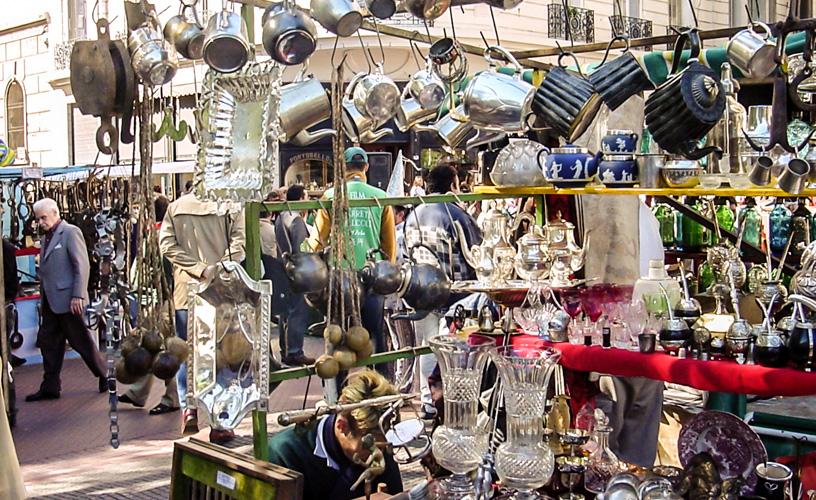 Mercado de San Telmo en Buenos Aires