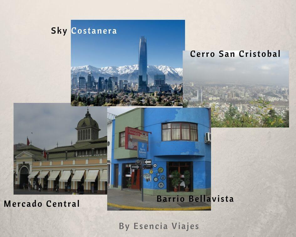 7 cosas que ver en Santiago de Chile - By Esencia Viajes